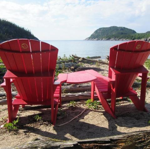 Red Chair project in Pukaskwa National Park, Ontario Canada